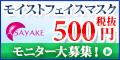 �A�T���P�u���C�X�g�t�F�C�X�}�X�N�v500�~���j�^�[